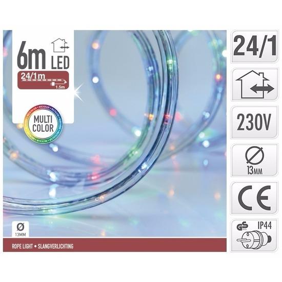 Lichtsnoer Met Gekleurde Led 6 Meter In Warenhuis Bellatio Belgie