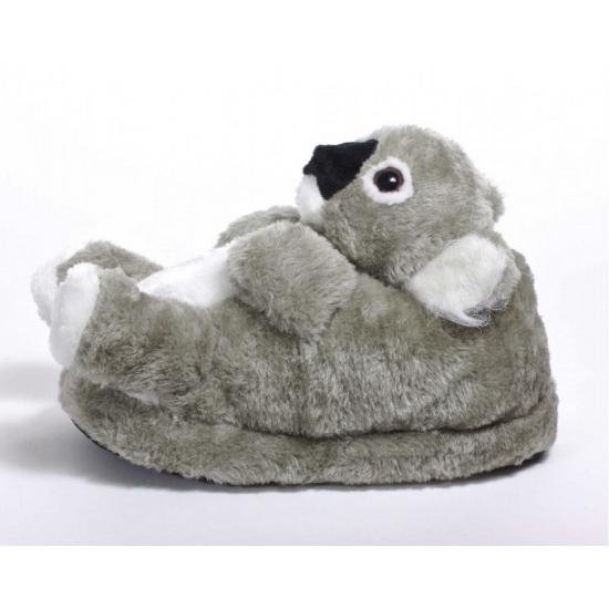e998f6bd95eef7 Kinder dieren pantoffels koala in warenhuis Bellatio België.